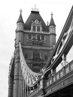 The Tower Bridge in Black & White 01