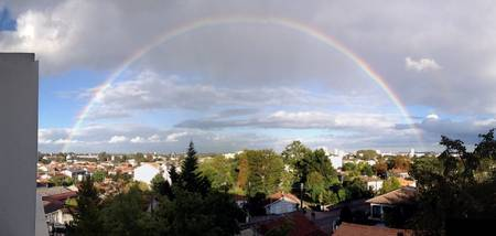 Rainbow over Bordeaux