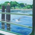 """Island Docking (San Juan Islands, Wa.) 16 x 20"" by Pamla"