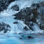 """Black Rock Falls"" by Pamla"