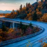 """Linn Cove Viaduct (2)"" by me9"