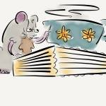 """Mice like to fix books"" by pauldunford"
