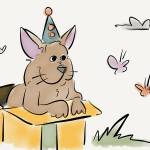 """Circus dogs and butterflies"" by pauldunford"