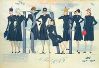 'R.A.F.' Blue, the fashionable new colour of 1940,