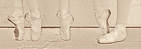 Six Ballet Shoes