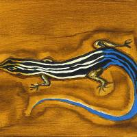 5 Lined Skink Art Prints & Posters by Tara Henry
