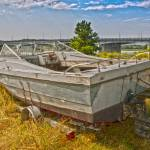 """BEACHED BOAT 6907 HDR EFFECT 1"" by RWA"
