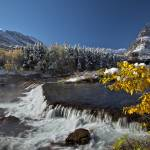 """""""Autumn Leaves, Glacier National Park"""" by the-hole-picture"""