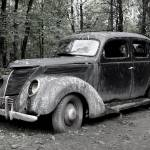 """1937 Ford Ready For Restoration"" by minnron37"