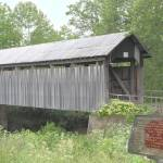 """Ringer Mills Covered Bridge 18x12"" by cre8ivepix"