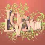 """i love you"" by desertman"