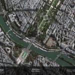 """""""Eiffel Tower, Paris, France"""" by GeoEye"""