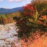 """Autumn River, White Mountains, New Hampshire"" by RoupenBaker"