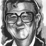"""Portrait of Buddy Hackett"" by 14"