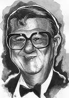 Portrait of Buddy Hackett