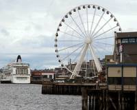 Seattle Waterfront:  The Big Wheel
