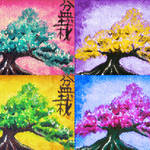 """Bonsai Pop Art"" by ShawnaRowe"