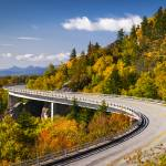 """Blue Ridge Parkway Linn Cove Viaduct - North Carol"" by DAPhoto"