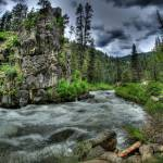 """""""High Water on the Middlefork"""" by GregStringham"""