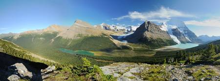 Panorama of Mount Robson