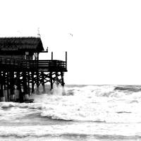 Cocoa Beach Pier Art Prints & Posters by william gilroy