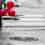 """Red balloons"" by mene_photographer"