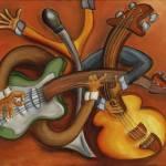 """""""Jazz Trio"""" by jmathernestudio"""