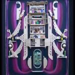 """Pyrite Cabinet : 02"" by Interiospectre"