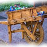 """Vendor Cart-Painting- 1012"" by DesignerPhotographyByNancy"
