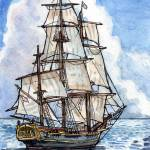 """HMS Bounty"" by acosenzo"