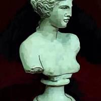 Green Bust of Venus Art Prints & Posters by Derek Alvarez