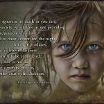 """Les Misérables Quote Teach the Ignorant 1 Cosette"" by WaynePhotoGuy"
