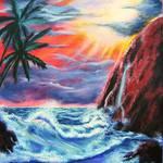 """Ocean Twilight"" by galina"