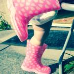 """Little legs in little wellies"" by Williams_Toni"