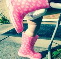 Little legs in little wellies