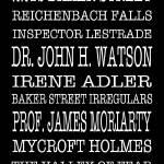 """Sherlock Holmes Bus Scroll"" by FordLou"