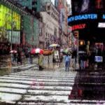 """""""NEW YORK rainy day"""" by Triflour"""
