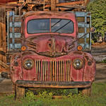 """Old Ford Truck-Rust on Metal"" by joegemignani"