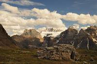 Mount Babel in Canadian Rockies