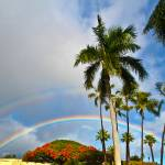 """Double Rainbow Oahu"" by NorthlandTikiBull"