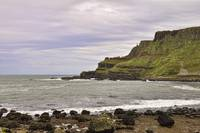 At the Giant's Causeway