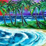 """""""Island Sunset"""" by galina"""