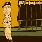 """Mickey Mantle Yankee Stadium"" by jbperkins"