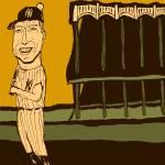 """""""Mickey Mantle Yankee Stadium"""" by jbperkins"""