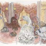 """""""Tea at Harrods"""" by LilyRaine"""