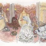 """Tea at Harrods"" by LilyRaine"