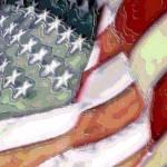 """""""US Flag"""" by Triflour"""