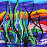 """Kelp Forest in Color"" by galina"
