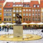 """""Warsaw Mermaid- Old Town Square"""" by AlexandraZloto"