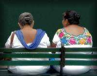 Mayan Descendant  Women from Yucatan